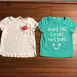 Casual Toddler Girl Tee Shirts